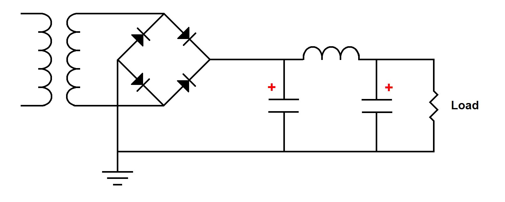 Rsd Academy Learn For Free Electronics Technology Analog Unregulator Power Supply This Is At Best An Over Simplification The Following Circuit A Filtered Unregulated With Typical Capacitor Inductor Filter